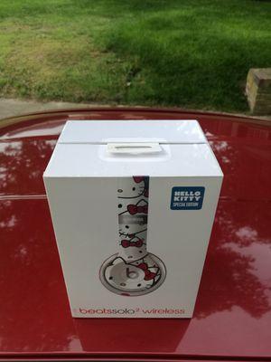 Hello Kitty - Beats by Dre Wireless Bluetooth Solo 2.0 headset Headphone Earphones for Sale in Richmond, VA