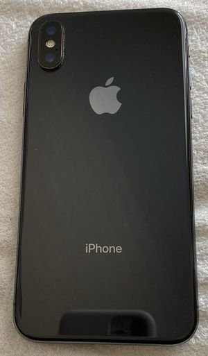 iPhone X 256 GB AT&T unlocked for Sale in Kissimmee, FL