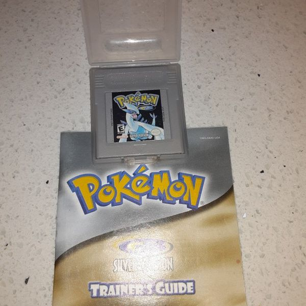 Pokemon Silver With Manual