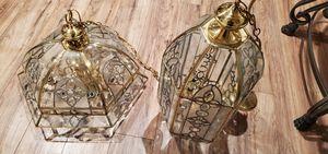 2 candeleros antiguos muy bonitos casi nuebos for Sale in Fresno, CA