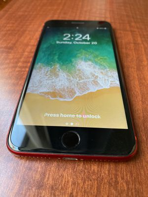 iPhone 8 Plus - Unlocked - 64gb - Product Red for Sale in Phoenix, AZ
