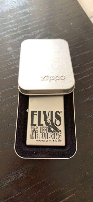 Zippo collectibles Elvis has left the building for Sale in MAGNOLIA SQUARE, FL