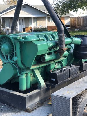 Generator AVK w/diesel engine make offer or trade for Sale in Tracy, CA
