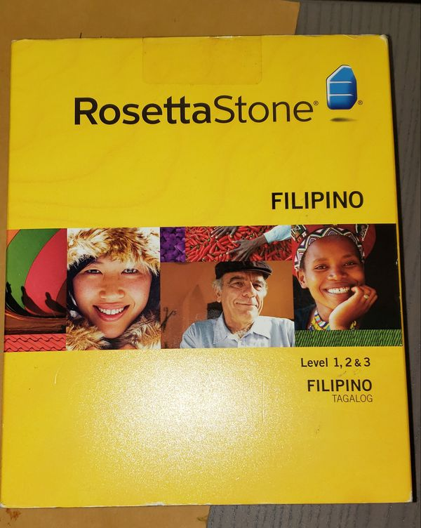 Rosette Stone Level 1,2,3 Filipino