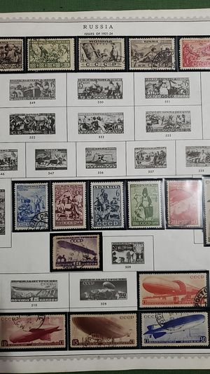4 sheet RUSSIA good value stamps lot GGYY 33 for Sale in Katy, TX