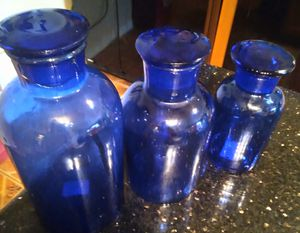 Set of Apothecary jars for Sale in Riverview, FL