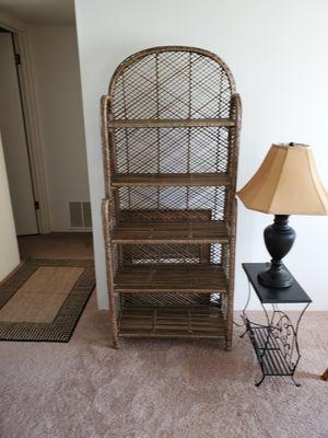 Beautiful Wicker Shelf! for Sale in St. Louis, MO