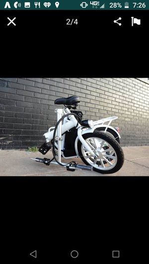 Foldable electric bike for Sale in Denver, CO
