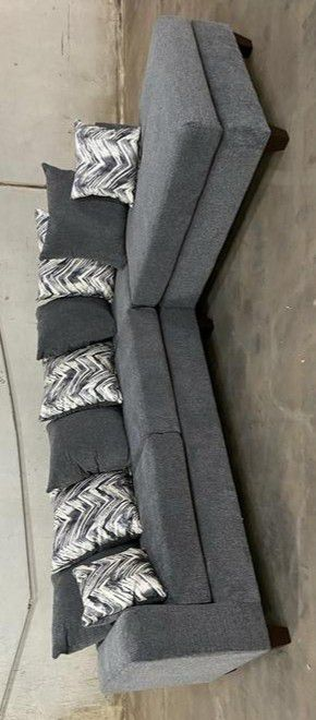 DORA SECTIONAL SOFA CHARCOAL for Sale in Houston, TX