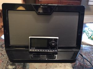 Sirius radio with antenna and 12v speaker for Sale in Harrington, DE