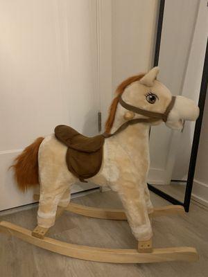 Trojan Rocking Horse Chair for Kids for Sale in Arlington, VA