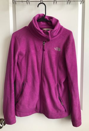 Purple North Face Jacket Size M for Sale in Columbus, OH