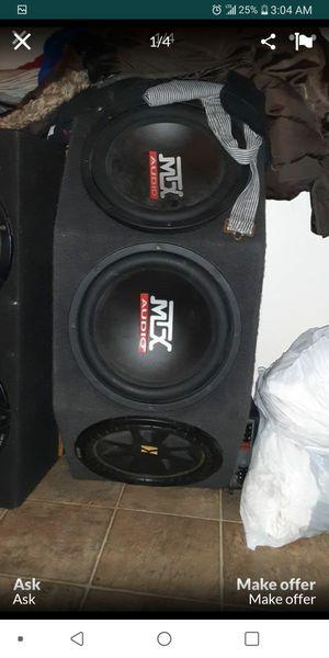 Speaker 3 12s for Sale in Sacramento, CA