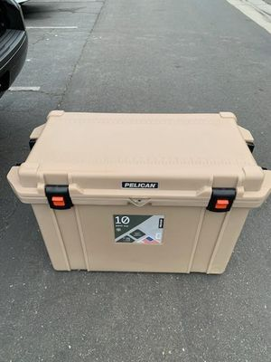 Pelican 95qt cooler 10 day retention of ice for Sale in Murrieta, CA