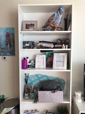 White bookshelves for Sale in San Diego, CA