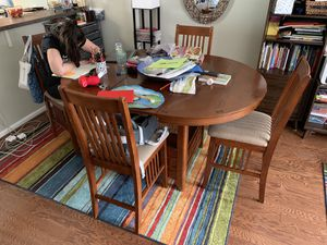 High-Top Table and 4 Chairs for Sale in Alexandria, VA