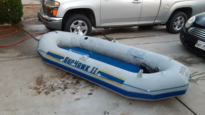 INTEX SEAHAWK RAFT trade for kayak for Sale in Fresno, CA