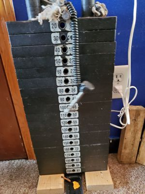 gymnasiums weight stack 200 pound weight stack for home or professional GYM for Sale in Waltham, MA