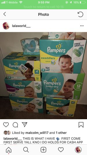 Pampers Size 1 and size 3 also Wipes !! for Sale in Middle River, MD