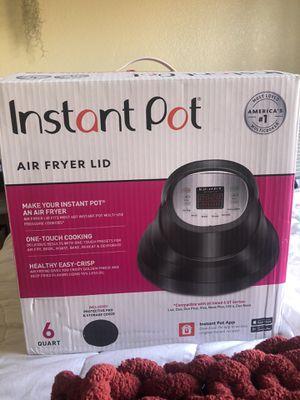 Air fryer lid instant pot for Sale in Oceanside, CA