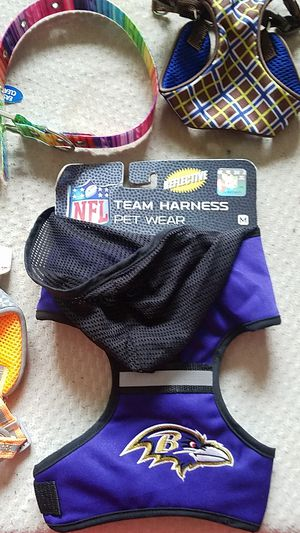 Various small dog harnesses and collars for Sale in Glen Burnie, MD