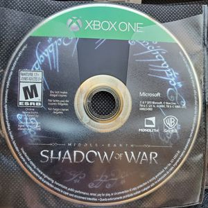 Xbox One Shadow of War for Sale in Fountain, CO