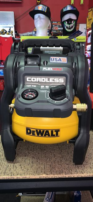 DEWALT 60v CORDLESS 2.5GAL AIR COMPRESSOR TOOL ONLY for Sale in Turlock, CA