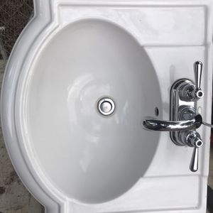 Wall Mount Sink With Faucet for Sale in Bloomington, CA