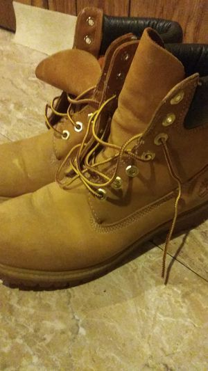 Timberland work boots used $10 or best offer for Sale in Philadelphia, PA