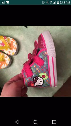 Toddler size 6 hello kitty shoes for Sale in West Mifflin, PA