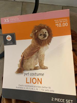 Little dog lion costume for Sale in Davenport, FL