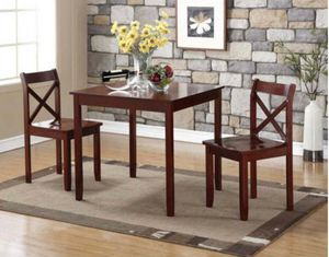 3 PC dining table set for Sale in Dallas, TX