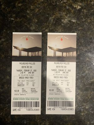 Red Sox Tickets for Sale in Miromar Lakes, FL