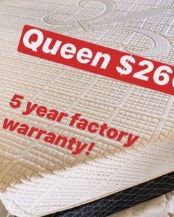 💥Brand new Blue Gel Memory Foam Mattress💥 Queen Mattress only-$260 Mattress & box spring-$320 Full Mattress only-$235 Mattress & box spring for Sale in Carson,  CA