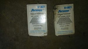 Carpet trimmer blades for Sale in Mason City, IA