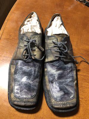 David Eden slick exotica Ostrich Lizard men's shoes for Sale in Gainesville, GA