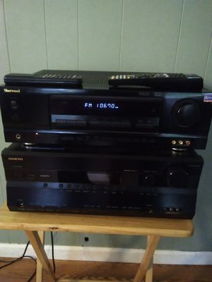 2 home audio video/receiver Rd 6500 Sherwood and ONKYO HDMI $35 each one for Sale in Fort Worth, TX