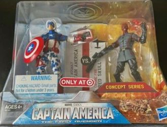 Target Exclusive Captain America Concept Series Two-Pack 2011 for Sale in Ceres,  CA