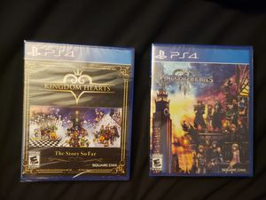 Kingdom Hearts PS4 for Sale in Hurst, TX