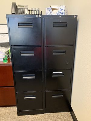 Four Drawer File Cabinet for Sale in Campbell, CA