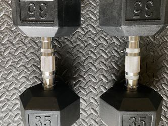 Weider 35 LB Dumbbells (pair) for Sale in Boise,  ID