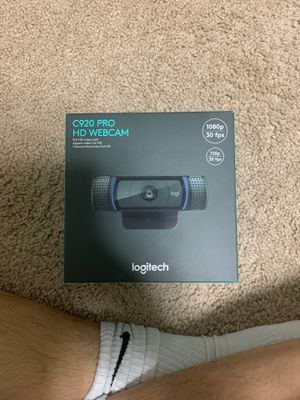 Logitech webcam for Sale in Ellicott City, MD