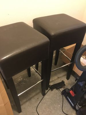 Bar stools both is great shape for Sale in Raleigh, NC