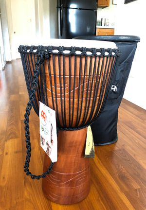 "Meinl African Style rope tuned 12"" Djembe w/ Bag for Sale in Los Angeles, CA"