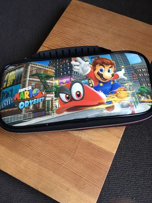 🔥NINTENDO SWITCH CARRYING CASE🔥 - 🔥 MARIO ODYSSEY EDITION🔥 - 🔥GREAT CONDITION🔥 for Sale in Los Angeles, CA