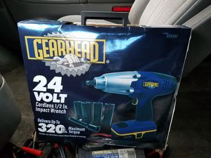 24 volt cordless half inch impact wrench for Sale in Philadelphia, PA