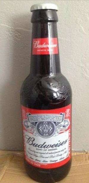 (( EMPTY)) 15Inch Budweiser Display Bottle for Sale in San Antonio, TX