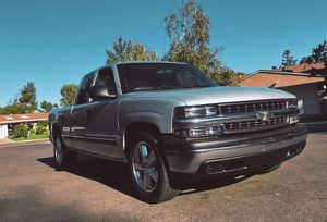2001 Chevy Silverado good tires all around for Sale in Worcester, MA
