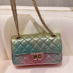 Chanel Metallic Goatskin Quilted Bag for Sale in Marina del Rey, CA