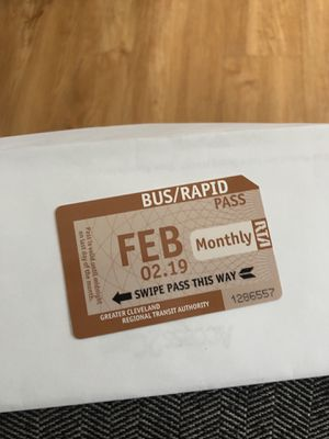Monthly bus pass for Sale in Cleveland, OH